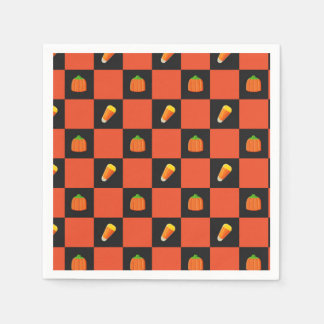Candy Corn Napkins Disposable Napkin