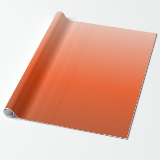 Candy Corn Ombre 02 Wrapping Paper