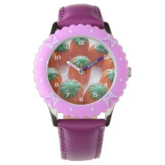 Candy Corn Pumpkin Shaped Watch