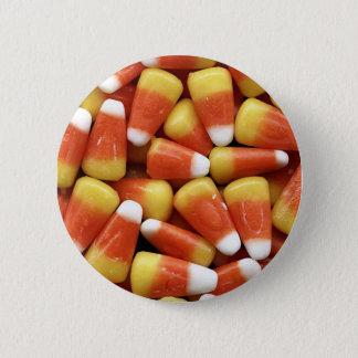 Candy Corn - Round Button