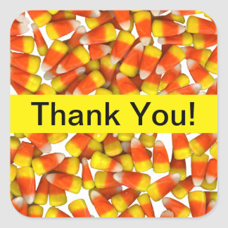 Candy Corn - Thank You Sticker