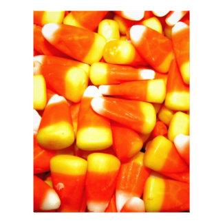 Candy corn treats letterhead