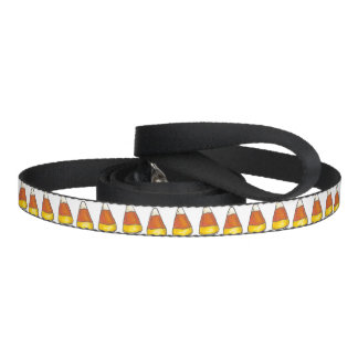 Candy Corn Trick or Treat Halloween Leash