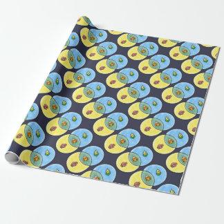 Candy Corn Venn Diagram Wrapping Paper
