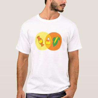 Candy Corn Venn T-Shirt