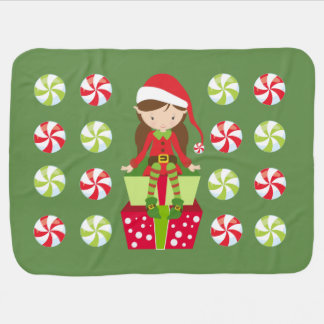 Candy Crush Christmas Baby Blanket