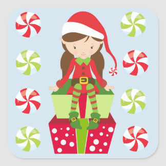 Candy Crush Christmas Square Sticker