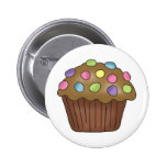 Candy Cupcakes Buttons