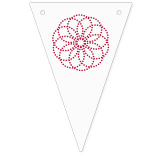 """""""CANDY CUTE"""" BUNTING FLAGS"""