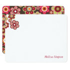 Candy Daisies Flowers Blooms Baby Shower Thank You Card