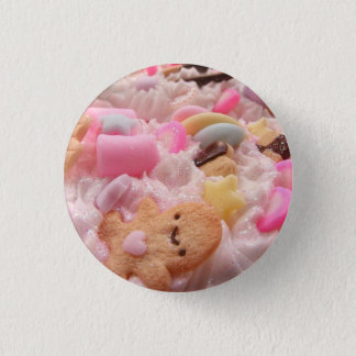 Candy Deco 1 Inch Round Button