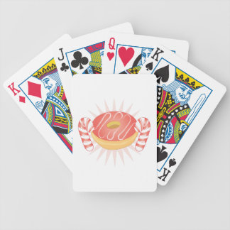Candy & Donut Bicycle Playing Cards