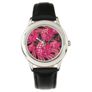 Candy Explosion, Abstract Rose Jewel Candy Wristwatches