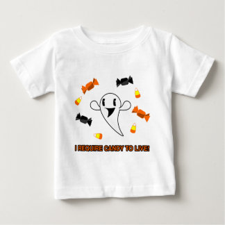 Candy Ghost Baby T-Shirt