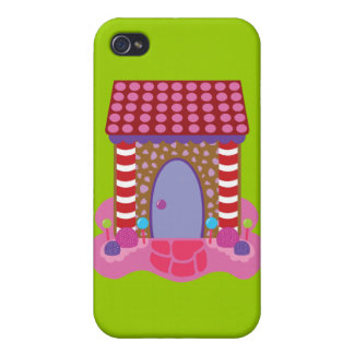 Candy Gingerbread House iPhone 4 Cover