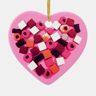 candy heart decorations