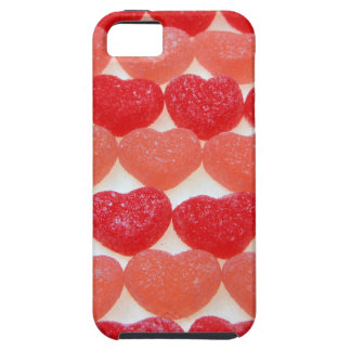 Candy Hearts In A Row Case For The iPhone 5