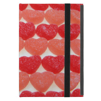 Candy Hearts In A Row Cover For iPad Mini