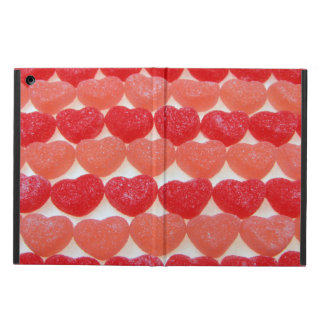 Candy Hearts In A Row iPad Air Cover
