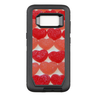 Candy Hearts In A Row OtterBox Defender Samsung Galaxy S8 Case