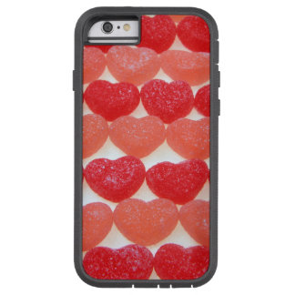 Candy Hearts In A Row Tough Xtreme iPhone 6 Case