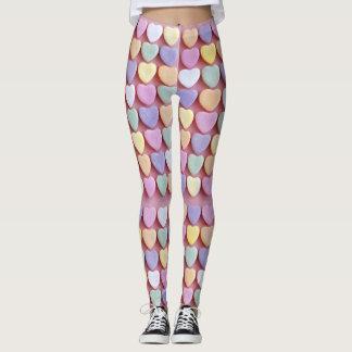Candy Hearts Leggings
