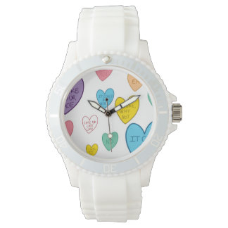Candy Hearts Watch