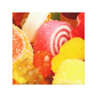 Candy jelly gallery wrap canvas