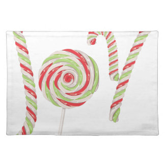 Candy Joy Word Placemat