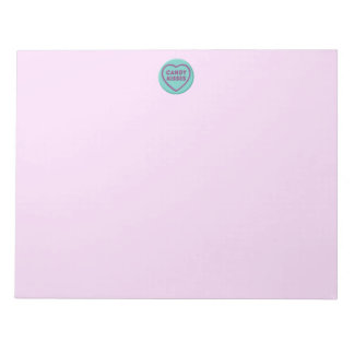 Candy Kisses Notepad