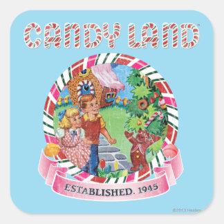 Candy Land Established 1945 Square Sticker