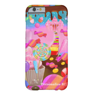 Candy Land Fantasy Castle in the Clouds Custom Barely There iPhone 6 Case