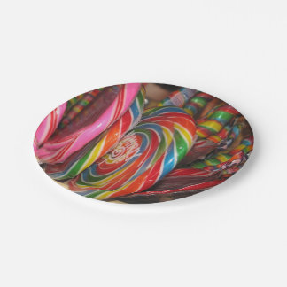 Candy Land Paper Party Plates 7 Inch Paper Plate