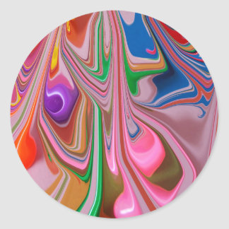 Candy Melt Classic Round Sticker