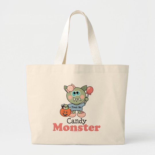 Candy Monster Halloween Trick or Treat Bag