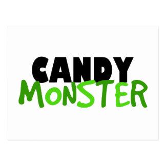 Candy Monster Postcard