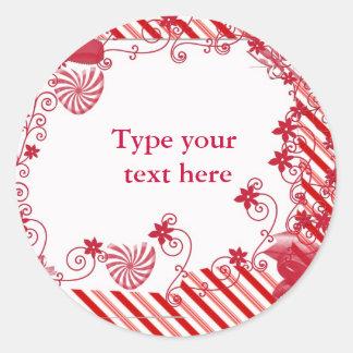 Candy n vines Gift tag or envelope seal
