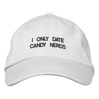 CANDY NERDIE EMBROIDERED HAT