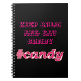 candy notebook