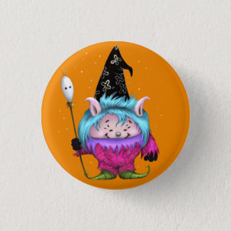 CANDY PET 1 HALLOWEEN MONSTER SMALL BUTTON