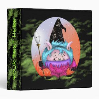 CANDY PET 3 HALLOWEEN  White 1 Touch™ EZD™ Ring Av Vinyl Binder