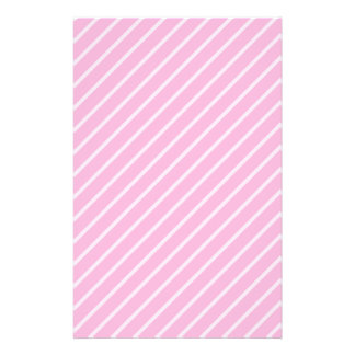 Candy Pink Diagonal Striped Pattern. Flyer Design