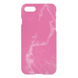 Candy Pink Marble iPhone 7 Case