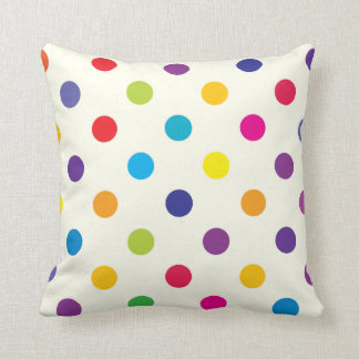 Candy Polka Dot Pillow