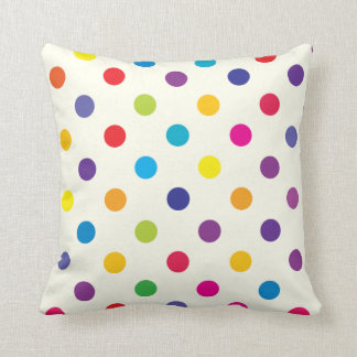 Candy Polka Dot Pillow