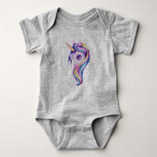Candy Pop Unicorn Baby Bodysuit