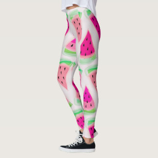 Candy Pop Watermelon Womens Leggings