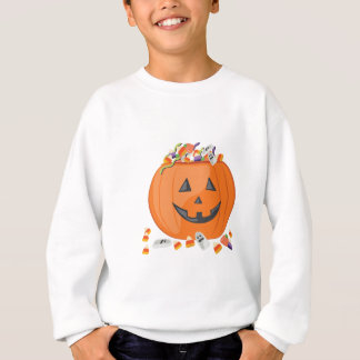 Candy Pumpkin Sweatshirt