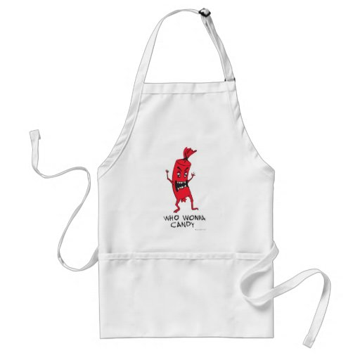 CANDY RED APRON