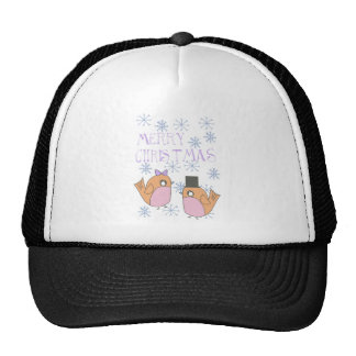 Candy robins trucker hat